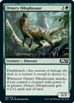 Ornery Dilophosaur - Core Set 2021 - Common