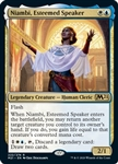Niambi, Esteemed Speaker - Core Set 2021 - Rare