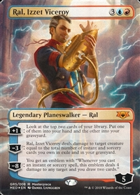 Ral, Izzet Viceroy - Guilds of Ravnica Mythic Edition - Mythic Rare