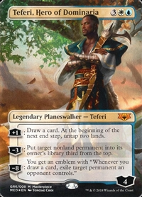 Teferi, Hero of Dominaria - Guilds of Ravnica Mythic Edition - Mythic Rare