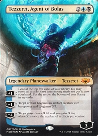 Tezzeret, Agent of Bolas - Guilds of Ravnica Mythic Edition - Mythic Rare