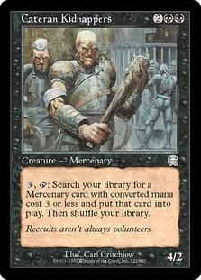 Cateran Kidnappers - Mercadian Masques - Uncommon