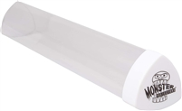 Monster Protectors Playmat Tube - Clear with White Lid