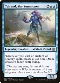 Talrand, Sky Summoner - Duel Decks: Mind vs. Might - Rare
