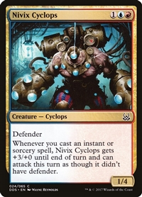 Nivix Cyclops - Duel Decks: Mind vs. Might - Common