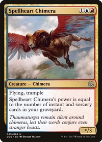 Spellheart Chimera - Duel Decks: Mind vs. Might - Uncommon