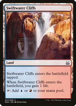 Swiftwater Cliffs - Duel Decks: Mind vs. Might - Common