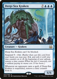 Deep-Sea Kraken - Duel Decks: Mind vs. Might - Rare