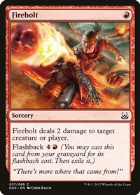 Firebolt - Duel Decks: Mind vs. Might - Common