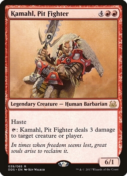 Kamahl, Pit Fighter - Duel Decks: Mind vs. Might - Rare