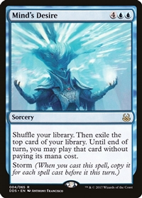 Mind's Desire - Duel Decks: Mind vs. Might - Rare