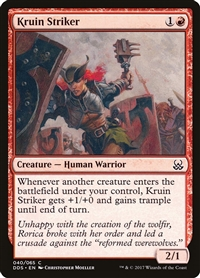 Kruin Striker - Duel Decks: Mind vs. Might - Common