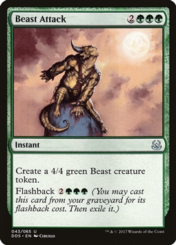 Beast Attack - Duel Decks: Mind vs. Might - Uncommon