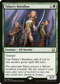 Talara's Battalion - Duel Decks: Mind vs. Might - Rare