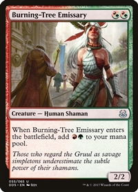 Burning-Tree Emissary - Duel Decks: Mind vs. Might - Uncommon