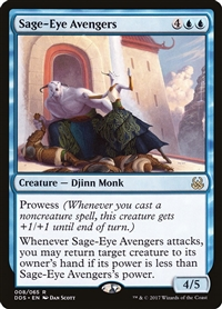 Sage-Eye Avengers - Duel Decks: Mind vs. Might - Rare