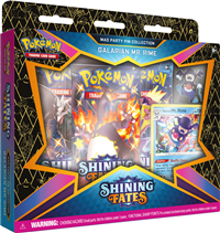 Pokemon Shining Fates Mad Party Pin Collection - Galarian Mr. Rime