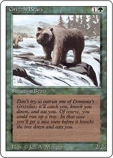 Grizzly Bears - Revised Edition - Common