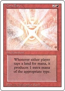 Mana Flare - Revised Edition - Rare