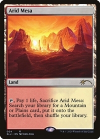 Arid Mesa - Secret Lair: Ultimate Edition - Rare