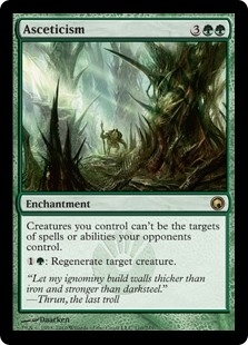Asceticism - Scars of Mirrodin - Rare