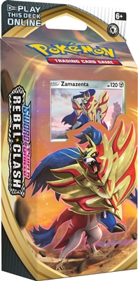 Sword & Shield Rebel Clash Theme Deck - Zamazenta