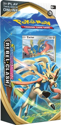 Sword & Shield Rebel Clash Theme Deck - Zacian