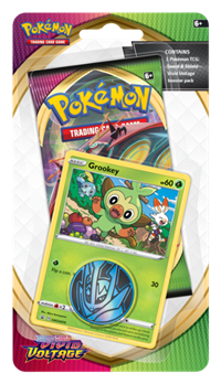 Sword & Shield Vivid Voltage Blister Pack - Grookey