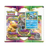 Sword & Shield Vivid Voltage 3 Booster Blister Pack - Sobble