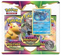 Sword & Shield Vivid Voltage 3 Booster Blister Pack - Vaporeon
