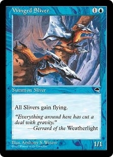 Winged Sliver - Tempest - Common