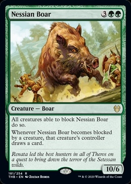 Nessian Boar - Theros Beyond Death - Rare
