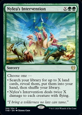 Nylea's Intervention - Theros Beyond Death - Rare