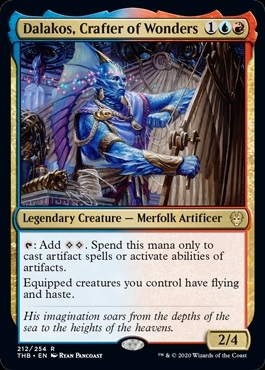 Dalakos, Crafter of Wonders - Theros Beyond Death - Rare