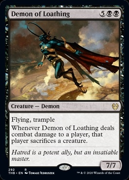 Demon of Loathing - Theros Beyond Death - Rare