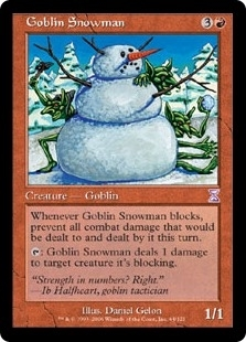 "Goblin Snowman - Time Spiral ""Timeshifted"" - Timeshifted"
