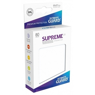 Ultimate Guard Supreme UX Sleeves: Matte Frosted