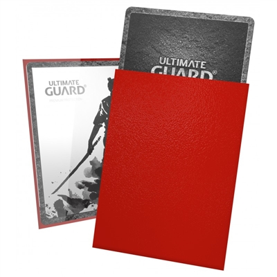Ultimate Guard Katana Sleeves (100) - Red