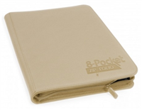 Ultimate Guard Zipfolio Xenoskin 8 Pocket - Sand