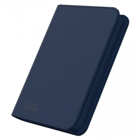 Ultimate Guard Zipfolio Xenoskin 8 Pocket - Dark Blue