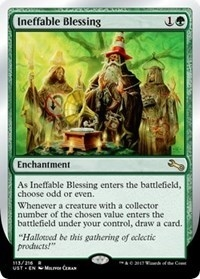 Ineffable Blessing (Odd or Even) - Unstable - Rare