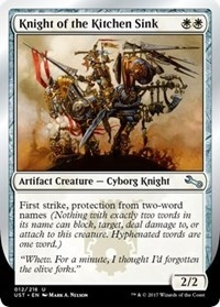 Knight of the Kitchen Sink (Two-Word Names) - Unstable - Uncommon