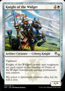 Knight of the Widget - Unstable - Uncommon
