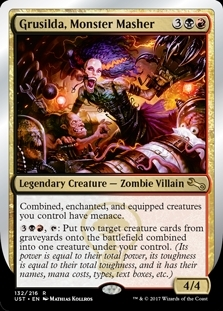 Grusilda, Monster Masher - Unstable - Rare