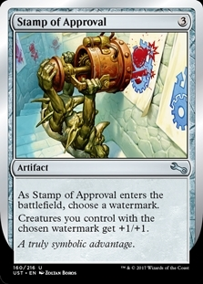 Stamp of Approval - Unstable - Uncommon