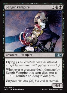 Sengir Vampire - Welcome Deck 2017 - Uncommon