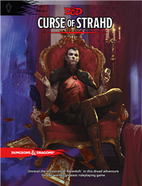 Dungeons & Dragons 5th Curse of Strahd