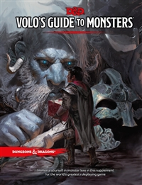 Dungeons & Dragons 5th Volo's Guide To Monsters