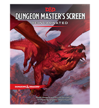 Dungeons & Dragons 5th Dunugeon Master's Screen Reincarnated