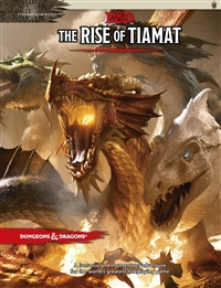 Dungeons & Dragons 5th The Rise of Tiamat